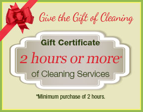 Give the Gift of Cleaning